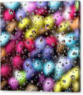 Drops And Candies Canvas Print