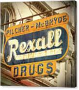 Drug Store #3 Canvas Print