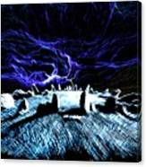 Druid's Circle, Night Canvas Print