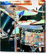 Drum Set Canvas Print