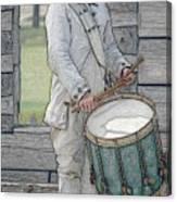 Drummer Boy Canvas Print