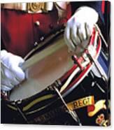 Drummer In Bermuda Canvas Print