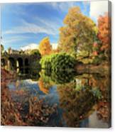 Drummond Garden Reflections Canvas Print