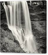 Dry Falls - Blue Ridge Mountains - Number Two Canvas Print