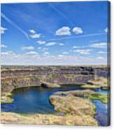 Dry Falls Overlook Canvas Print