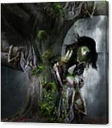 Dryad's Dance Canvas Print