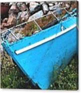 Drydock Boat Canvas Print