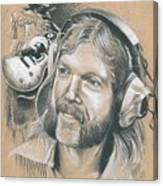 Duane Allman Canvas Print