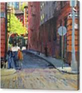 Duane Park From Staple Street Canvas Print