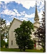 Duanesburg, Ny, Church Canvas Print