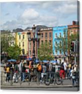 Dublin Day Canvas Print