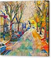 Dublin Side Street Canvas Print