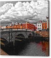 Dublin's Fairytales Around Grattan Bridge 2 V3 Canvas Print