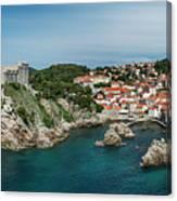 Dubrovnik Panorama Canvas Print