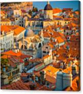 Dubrovnik Sunset Canvas Print