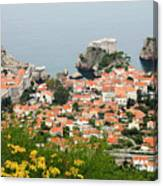 Dubrovnik, The Walled Old City Canvas Print