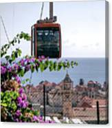 Dubrovniks Cable Car Canvas Print