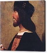 Duca Valentino Canvas Print
