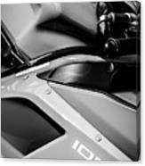 Ducati 1098 Motorcycle -0893bw Canvas Print