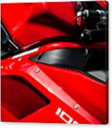 Ducati 1098 Motorcycle -0893c Canvas Print