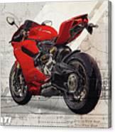 Ducati 1199 Panigale Canvas Print