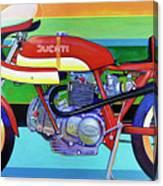 Ducati 750 Ss Corsa Canvas Print