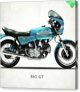 Ducati 860 Gt 1975 Canvas Print