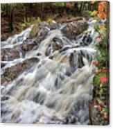 Duchesnay Falls Canvas Print