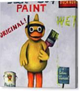 Duck Boy Canvas Print