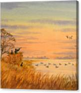 Duck Hunting Calls Canvas Print