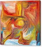 Duck The Alchemist Canvas Print