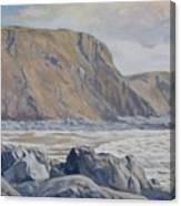 Duckpool Boulders Canvas Print