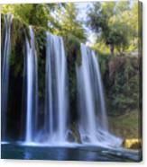 Duden Waterfall - Turkey Canvas Print