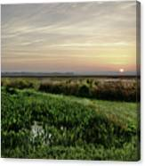 Due East Canvas Print