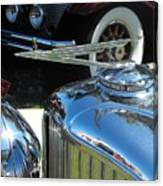 Duesenberg Hood Ornament  Canvas Print