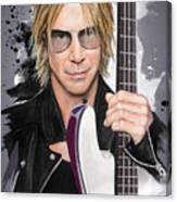 Duff McKagan Canvas Print