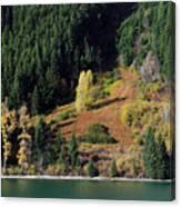 Duffey Lake Colors Canvas Print