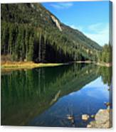 Duffey Lake Reflection Canvas Print