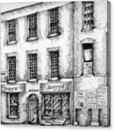 Duffys Antique Shop Parnell Street Dublin  Canvas Print