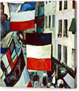 Dufy: Flags, 1906 Canvas Print