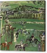 Dufy: Race Track, 1928 Canvas Print