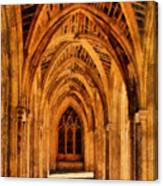 Duke Chapel Canvas Print