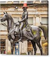 Duke Of Wellington Statue Canvas Print