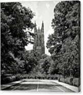 Duke University Chapel Canvas Print