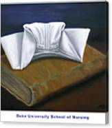 Duke University School Of Nursing Canvas Print