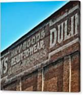 Dulin's Dry Goods Canvas Print