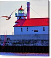 Duluth Lighthouse Canvas Print
