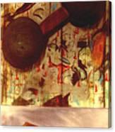 Dumbbell Eyes Canvas Print