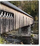 Dummerston Covered Bridge Canvas Print