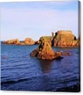 Dunbar Coast Canvas Print